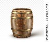 Wooden Barrel For Wine Or Beer...