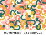 modern artwork of abstract... | Shutterstock .eps vector #1614889228