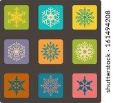 snowflake. vector illustration | Shutterstock .eps vector #161494208
