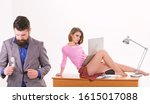protecting information. pretty...   Shutterstock . vector #1615017088
