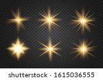 glowing lights and stars....   Shutterstock .eps vector #1615036555