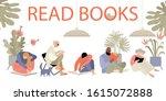 set of vector illustrations of... | Shutterstock .eps vector #1615072888