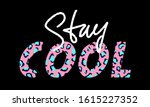 vector illustration with stay... | Shutterstock .eps vector #1615227352