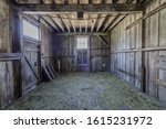 Old Horse Barn In Wilder Ranch...