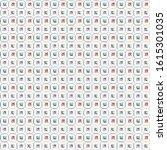seamless vector pattern in... | Shutterstock .eps vector #1615301035