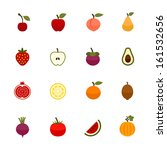 apple,avocado,background,berry,care,cherry,collection,exotic,food,fresh,fruits,health,icons,illustration,juice