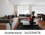 interior design  big modern... | Shutterstock . vector #161534678