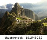machu picchu inca lost city in... | Shutterstock . vector #161549252