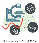 medical imaging trends  ... | Shutterstock .eps vector #1615521145