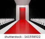 fashion empty runway   Shutterstock . vector #161558522