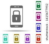 mobile  security in multi color ...