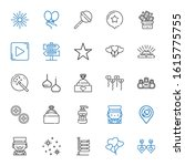shiny icons set. collection of... | Shutterstock .eps vector #1615775755
