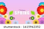 spring background illustration... | Shutterstock .eps vector #1615962352