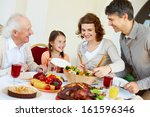 portrait of happy family... | Shutterstock . vector #161596346