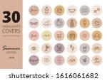 instagram highlights cover... | Shutterstock .eps vector #1616061682
