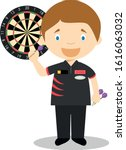 sports cartoon vector... | Shutterstock .eps vector #1616063032