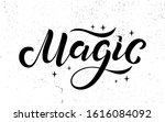 vector illustration of magic... | Shutterstock .eps vector #1616084092