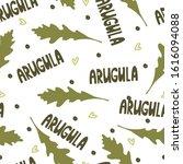arugula seamless pattern. print ...   Shutterstock .eps vector #1616094088