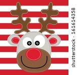 deer vector | Shutterstock .eps vector #161614358
