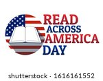 read across america day concept.... | Shutterstock .eps vector #1616161552