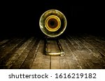 Yellow Brass Instrument...