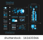 timeline to display your data... | Shutterstock . vector #161633366