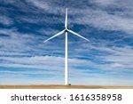 A Wind Turbine On The Eastern...