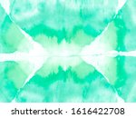 Aquamarine Geometric Pattern...