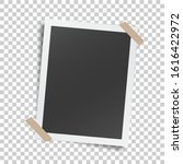 realistic template with paper... | Shutterstock .eps vector #1616422972