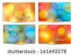 set of holiday colorful... | Shutterstock .eps vector #161643278