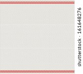 scandinavian style knitted... | Shutterstock .eps vector #161648276
