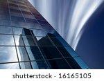 reflection of skyscraper in... | Shutterstock . vector #16165105