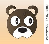 vector mouse face for masks ... | Shutterstock .eps vector #1616788888