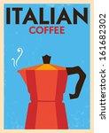 Italian Coffee Poster