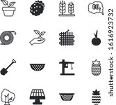 plant vector icon set such as ... | Shutterstock .eps vector #1616923732