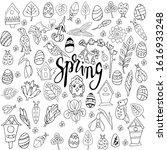 A Large Set Of Spring Botanica...