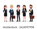 group of business men and women ... | Shutterstock .eps vector #1616937958