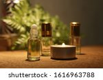 arabic perfume with natural... | Shutterstock . vector #1616963788