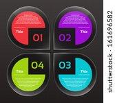 vector progress background  ... | Shutterstock .eps vector #161696582