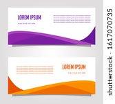 wave vector design banner... | Shutterstock .eps vector #1617070735