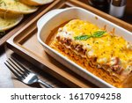delicious golden brown beef... | Shutterstock . vector #1617094258