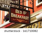 Signboard Of A Bed And...
