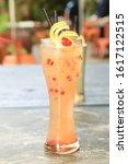 Delicious Beverage Serving...