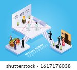 special agent spy isometric... | Shutterstock .eps vector #1617176038