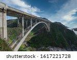 big sur bridge in california   Shutterstock . vector #1617221728