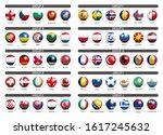 european soccer tournament... | Shutterstock .eps vector #1617245632