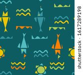 Seamless Patterns With Nautica...