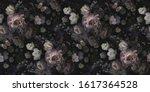 Floral Vintage Seamless Pattern....