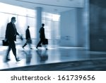 lobby in the rush hour is made... | Shutterstock . vector #161739656
