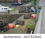 Dunure Pier Ayrshire Scotland ...